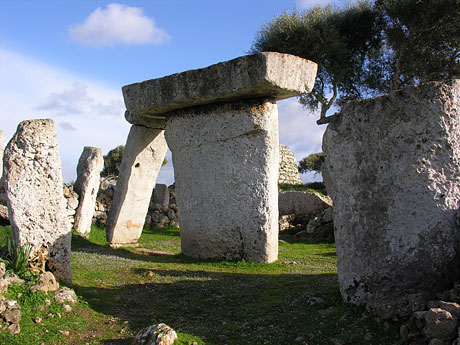 Megalithic monument in Menorca